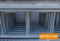 Etagenleiter Stahl für Durchstiege _ 2,15 x 0,35 m _ Neuware