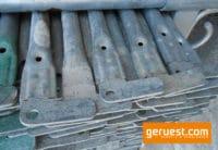 Geländer 1,09 m Stahl gebraucht _ Layher Gerüstteile