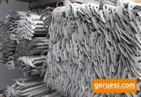 Geländer 1,57 m Stahl _ Layher Gerüstteile