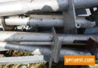 Geländer-Befestigungsstiel 1,20 m für AluSteg gebraucht