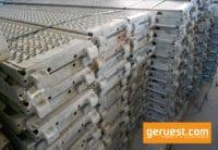 Layher U-Stahlboden 2,57 m gebraucht kaufen auf geruest.com