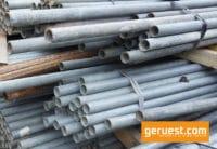Gerüstrohr 3,50 - 4,00 m gebraucht