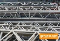Gitterträger 7,71 x 0,45 m Stahl - Layher Gerüstteile