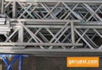 Gitterträger 8,00 x 0,45 m Alu - Layher Gerüstteile