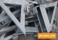 Konsole 0,36 m ohne Rohrverbinder - Layher Gerüstteile