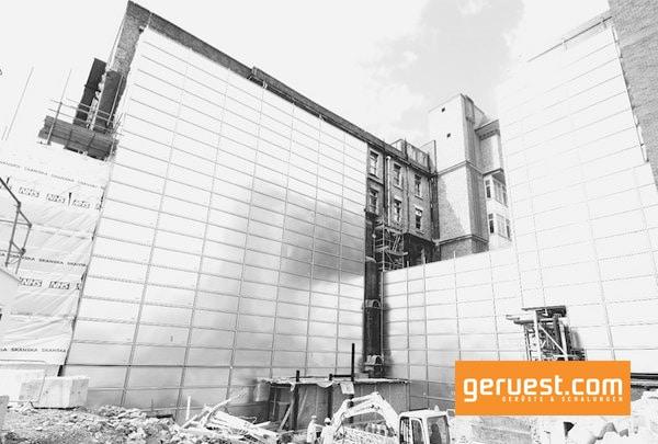 Layher entwickelt mit dem Layher Protect ein Umweltschutzsystem für die Baustelle
