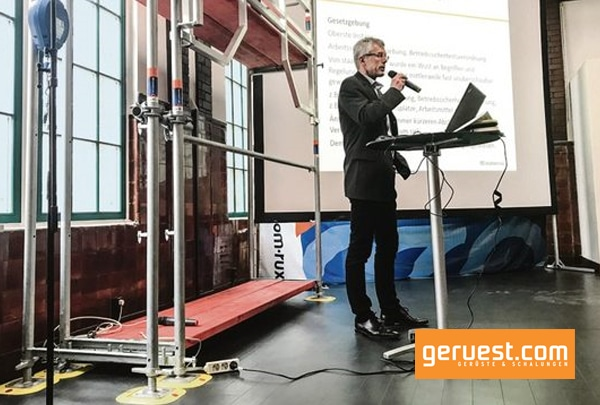 Michael Nordmeier stellt sich Fragen zur TRBS und zu Lösungen, die scafom-rux zu diesem Thema bietet
