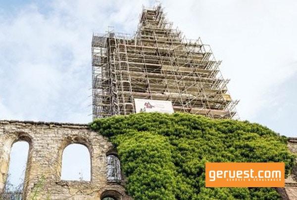 Mit etwa 4,6 m außer Lot ist der Schiefe Turm von Bad Frankenhausen schiefer als der Schiefe Turm von Pisa