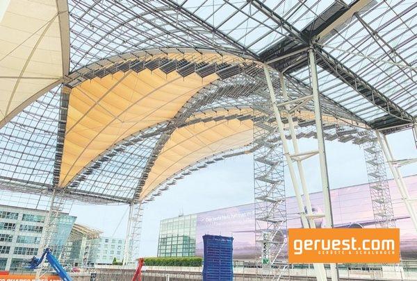 Mit rund 10 000 m² ist das MAC-Forum am Airport München die größte überdachte Freifläche Europas