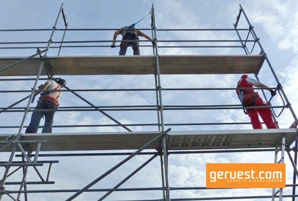 Neue Technische Regeln für Betriebssicherheit für die Gerüstbauer zielen verstärkt auf technische Schutzmaßnahmen