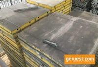 Paneel 1,80 x 1,80 m Alu _ Hünnebeck Topec _ gebraucht
