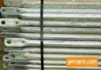 Rux Super 65 Rückengelänbder gebraucht für 204 qm Fassadengerüst