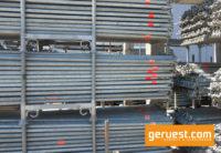 Riegel 3,07 m _ Layher Allround Gerüst 76 qm mit 3,07 m Stahlbelägen