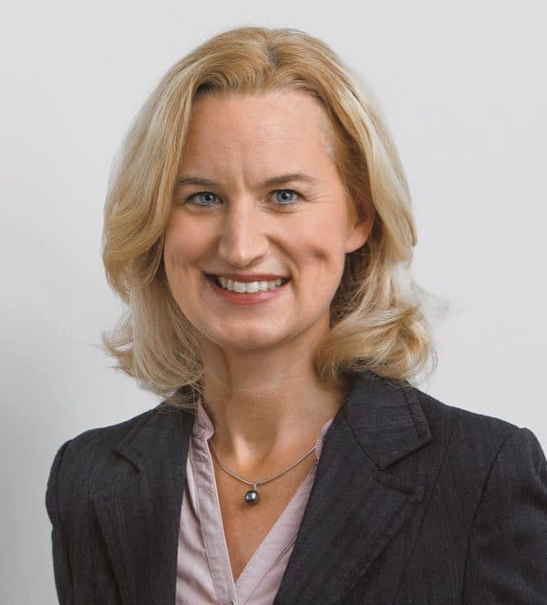Sabrina Luther ist die Geschäftsführerin des Bundesverbandes und der Bundesinnung Gerüstbau