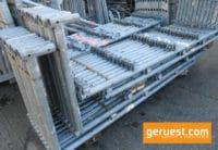 Schutzgitterstütze 2,00 x 0,73 m _ Layher Gerüstteile _ gebraucht