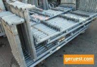 Gebrauchte L´s für 1002 m² Gerüst Layher Blitz 73