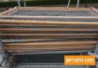 Seitenschutzgitter 1,57 x 1,00 m Stahl _ Layher Gerüstteile
