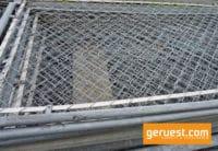 Seitenschutzgitter 2,57 x 1,00 m Stahl _ Layher Gerüstteile