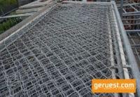 Seitenschutzgitter 3,07 x 1,00 m Stahl _ Layher