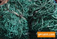 Seitenschutznetz Gerüstnetz 10 x 2 m mit Gurtschnellverschluss - gebraucht