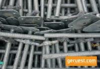 Spindelfuß 0,60 m - Gerüstteile für Layher Gerüst - neu