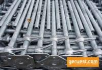 Spindelfuß 0,80 m - Gerüstteile für Layher Gerüst - neu