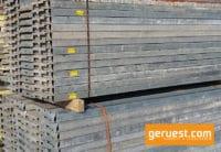 Stahlbelag 3,00 m gebraucht - Peri Up Easy 1500 m²