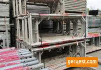 Stellrahmen Alu _ Plettac SL Gerüst 127,5 qm mit 2,50 m Robustböden