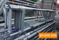 Stellrahmen Stahl für Blitz Gerüst _ 2,00 x 0,36 m _ Layher Gerüstteile