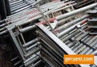 Stellrahmen Stahl für Layher Blitz Gerüst _ 0,66 x 0,73 m _ defekt