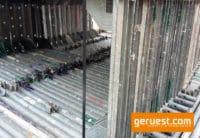Stellrahmen Stahl für Layher Blitz Gerüst _ 150x73 _ gebraucht