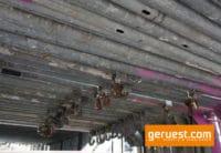 Stellrahmen Stahl für Layher Blitz Gerüst _ 2,00 x 1,09 m _ gebraucht mit kleinen Kästchen