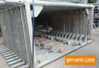 Stellrahmen Stahl für Layher Blitz Gerüst _ 200x73 _ gebraucht