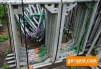 Stellrahmen Stahl für Layher Blitz Gerüst _ 0,66 x 1,09 m _ gebraucht
