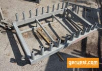 Stellrahmen-Zapfenpalette 0,73 m gebraucht - Layher Gerüst