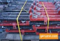 Treppen-Geländerpfosten gebraucht - Layher Gerüstteile