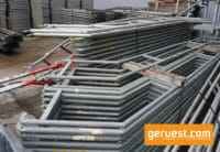 Treppengeländer 3,07 m Feld Stahl - Layher Gerüstteile