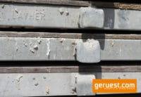 U-Robustboden Layher 2,57 x 0,61 m _ verschmutzt