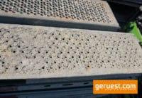U-Stahlböden verschmutzt _ 2,07 x 0,32 m _ Layher Gerüstteile