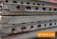 U-Stahlboden Layher _ 1,57 x 0,32 m _ verschmutzt