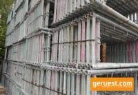 Rux Super 65 Vertikalrahmen gebraucht für 612 qm Gerüst