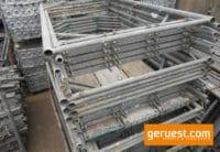 Vertikalrahmen 200 x 110 Stahl _ Plettac SL Gerüst gebraucht