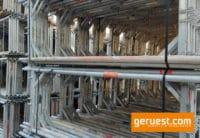 Vertikalrahmen Aluminium _ Plettac Sl Alu Gerüst 856,8 qm mit 3,00 m Alurahmentafeln
