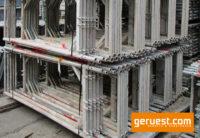 Vertikalrahmen Alurahmen _ Plettac SL Alu Gerüst 62 qm mit 2,50 m Robustböden