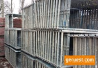 Vertikalrahmen SL B 74 Stahl _ Plettac SL gerüst mit 3,00 m Alurahmentafeln