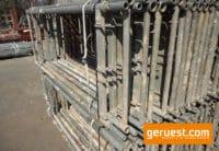 Vertikalrahmen SL B74 Stahl _ Plettac SL Gerüst 1020 qm mit 2,50 m Holzbelägen