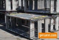 Vertikalrahmen SL B74 _ Plettac SL Gerüst 1173 qm mit 2,50 m Holzbelägen