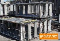 Vertikalrahmen SL B74 _ Plettac SL Gerüst 204 qm mit 2,50 m Holzböden