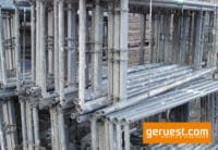 Vertikalrahmen SL B74 _ Plettac SL Gerüst 255 qm mit 2,50 m Holzbelägen