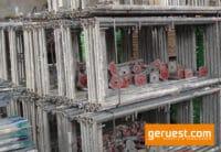 Vertikalrahmen SL B74 _ Plettac SL Gerüst 306 qm mit 2,50m Holzbelägen